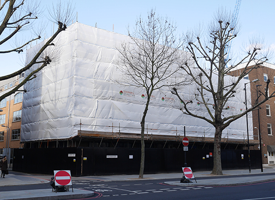 Blackfriars Road Demolition