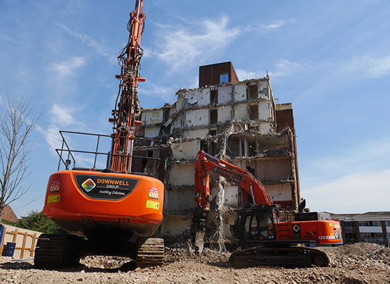 Housing demolition