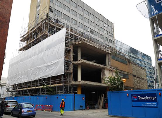 Top Down Demolition