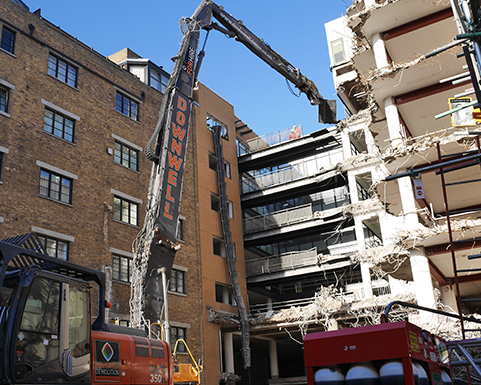 Demolition Contractor in Essex