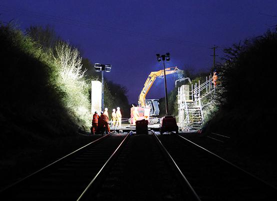 Downwell-Salisbury Rail