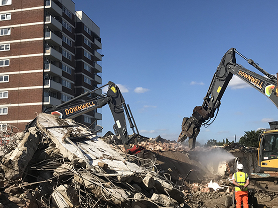 Demolition Works in Essex