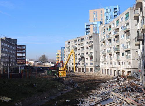 Demolition in Lewisham