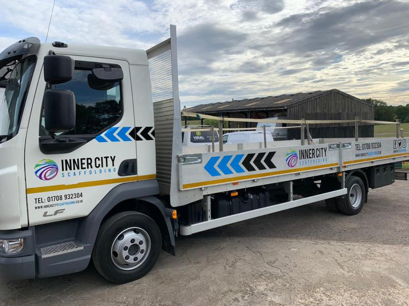Inner City Scaffolding Lorry